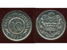 GUYANA  10 cents  1992