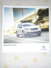 Peugeot 2008 range brochure c2013 Irish market