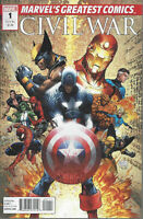 Civil War Marvel's Greatest Comics #1 Michael Turner cover art!
