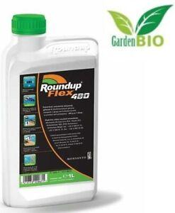 ROUNDUP® POWERFLEX (FLEX 480) Unkrautvernichter Unkrautfrei Glyphosat/1L/2L/5L