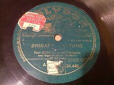 EUROJAZZ 78 rpm - PAUL GODWIN - Brigade Fantome - POLYDOR 24.446