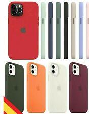 Funda silicona para iPhone 12 / pro / pro max / 12 mini forro interno microfibra