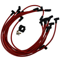 JDMSPEED Ultra 40 Red Spark Plug Wires Set Big Block for  Chevy BBC 454 502 HEI