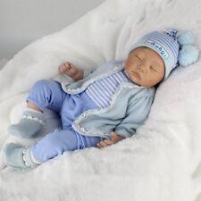"Kaydora Reborn Baby Doll 22"" Handmade Newborn Xmas Gift Vinyl Silicone Girl Doll"