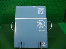 Texas Penal Code 2016 edition    West's Texas Statutes and Codes  law book
