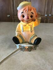 """Vintage (1960s) Raggedy Andy Nightlight-It Works!-6"""" Tall Approximately"""