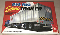 AMT Big Rig Semi Trailer 1:25 scale model kit new 1164