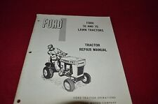 Ford 70 & 75 Lawn Tractor Dealer's Repair Shop Manual Chpa