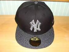 New York Yankees New Era Hat Pebble Black Cap MLB 7 5/8