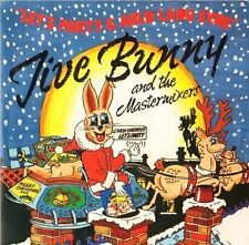"""JIVE BUNNY let's party and auld lang syne 7"""" PS EX/EX uk music factory MFD003"""