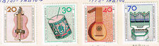 Germany Berlin Musical Instruments stamps set 1973 MLH