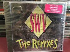 SWV The Remixes [EP] CD 1994 RCA 66401 HYPE STICKER SEALED