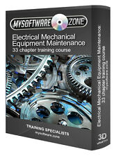 Learn Electrical Mechanical Equipment Maintenance Training Course Study Guide CD