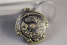 Dota 2 Immortal Champion Shield Hand Metal Hangings Necklace Pendant Keychain