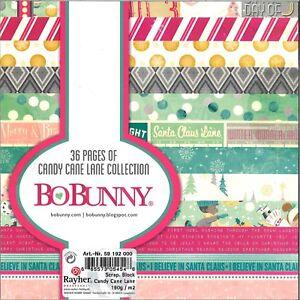 Bo Bunny Block Candy Cane Lane Collection