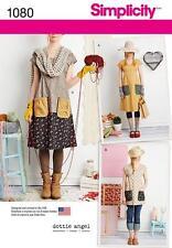 Simplicity sewing pattern rate la robe et tunique dottie angel xs-xl 1080 vente