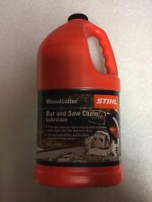 STIHL Woodcutter Bar and Chain OIL Lubricant 1 Gallon New OEM