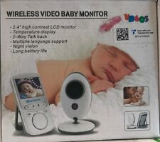 3.5″ Wireless Baby Monitor 2.4Ghz Hd Video Night Vision Security Camera Viewer