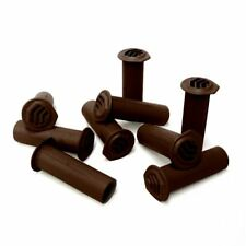 50 x Brown Drill Weep Vents Round Vent Cavity, Rendered Walls, Retaining Wall