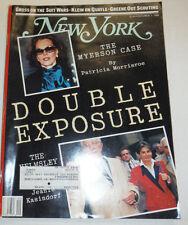 New York Magazine The Myerson Case Double Exposure October 1988 011615R