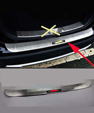 Stainless Rear Bumper Protector Sill Plate For 2016 Mitsubishi Outlander Black