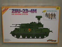 Dragon 1/35 Scale ZSU-23-4m Air Defense System w/Soviet Motor Rifle Troops