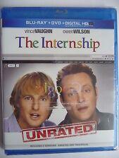 NEW/SEALED - The Internship (Blu-ray/DVD, 2013, 2-Disc Set, Incl. Digital Copy)