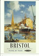 BRISTOL -St.Mary Redcliffe & Old Docks