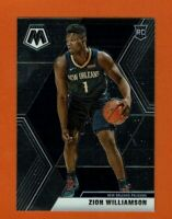 2019-20 Panini Mosaic Zion Williamson RC #209 New Orleans Pelicans