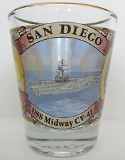 SAN DIEGO  FEATURING THE SITES OF THE CITY  SHORT SHOT GLASS