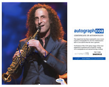 Kenny G Saxaphone Signed Autographed 8x10 Photo EXACT Proof ACOA Authenticated G