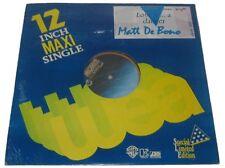 "Philippines MATT DE BONO Love is a Danger SEALED 12"" EP Record"