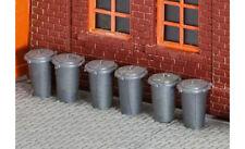 FALLER Dustbins (10) Model Kit II HO Gauge 180905