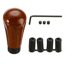 Walnut Wood Gear Knob Shift Stick Brown Level Manual Shifter Universal