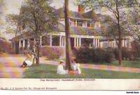 Postcard Refectory Humboldt Park Chicago IL