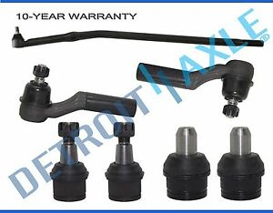 SCXCOPIDO 4pcs Upper and Lower Ball Joint Set Kit For 92-13 Ford E-250 350 450 Super Duty