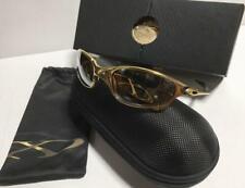 67e3fdbab Óculos de sol homens Fashion OAKLEY 750 Modelo Limitada Rara JULIET & X  SQUARED Ouro 24K