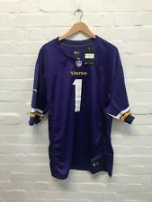 Minnesota Vikings Nike Men's NFL Game Jersey - XXL - Diana 1 - Purple - NWD