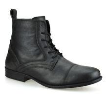 Biker Boots 100% Leather Shoes for Men