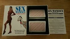 Vintage Adult Card Game - SEX MANIACS by Paul Lamond Games
