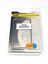 3 x Bilora LCD Guard Cover Schutzglas für Sony NEX3 / 5 / 6 / 7 Neu OVP