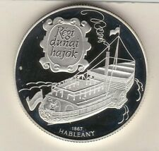 More details for 1995 hungary ships hableany silver proof 1000 forint with a capsule near mint