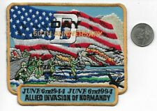 MILITARY COLLECTOR PATCH D Day 1994 50 year Anniversary