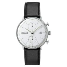NEW Junghans Max Bill Chronoscope Men's Automatic Watch - 027/4600.00