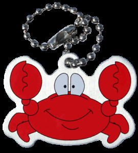 Connie the Crab Cache Buddy - Trackable for Geocaching