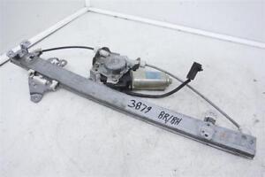 00-04 Nissan Frontier Rear Right Passenger Door Power Window Regulator 827202S71