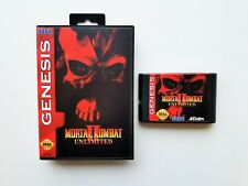 Mortal Kombat II 2 Unlimited Sega Genesis (Playable Bosses - Secret fighter) USA