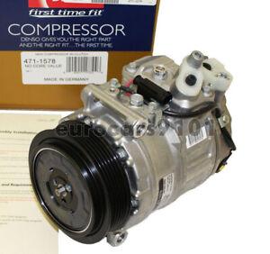 New! Mercedes-Benz C230 DENSO A/C Compressor and Clutch 471-1580 0012305511