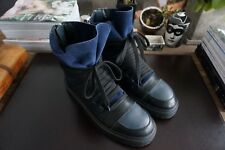 Mens Authentic Kris Van Assche Multi Lace Leather Sneakers Size 45 - US12