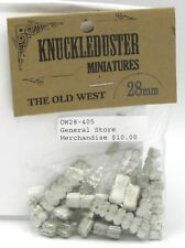 Knuckleduster OW28-405 General Store Merchandise Old West Terrain Cans Bags NIB